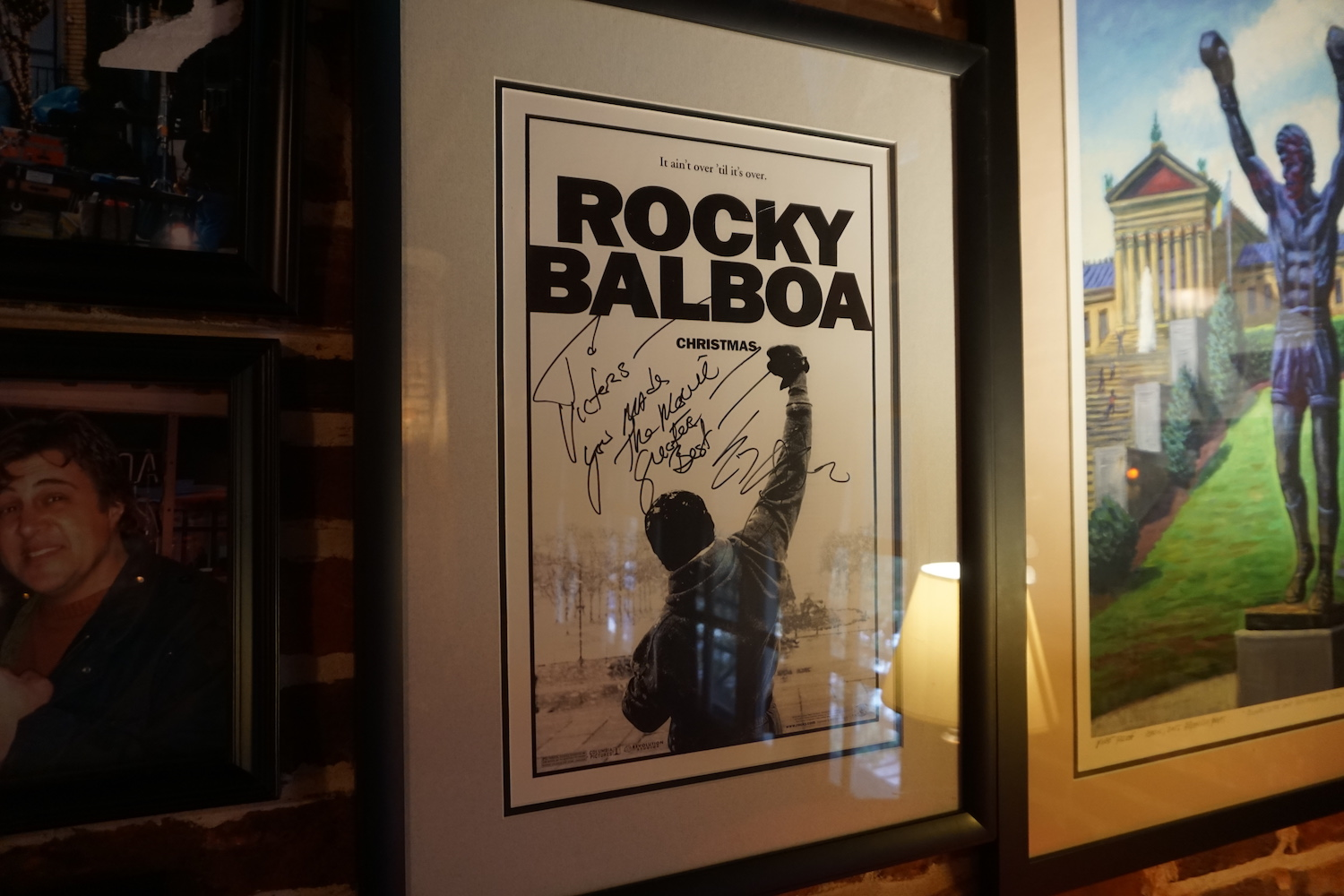 Rocky Balboa - Victor's Cafe